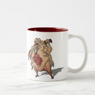 *snarl* Two-Tone coffee mug