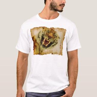Snarling Asian Tiger Wildlife-lover Art Apparel T-Shirt