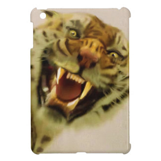 Snarling Bengal Tiger Big Cat Wildlife Art iPad Mini Cases