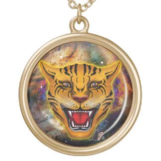 Snarling Tiger Nebula Necklace