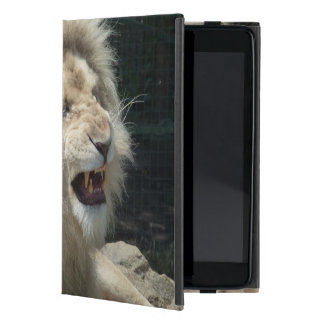 Snarling White Lion iPad Mini Case