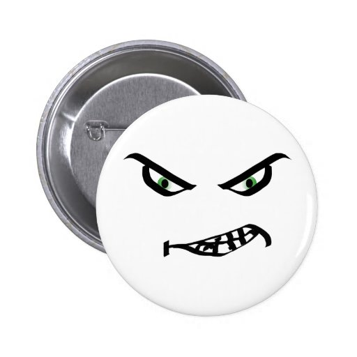 Snarly Smiley Face Button