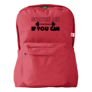 Snatch Me (weights) American Apparel™ Backpack