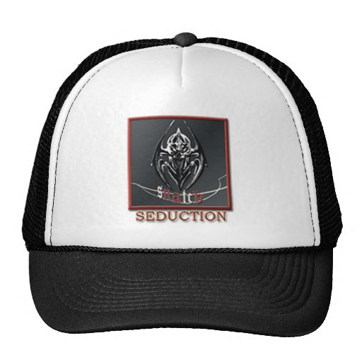 SNATCH SEDUCTION BADGE TRUCKER HAT