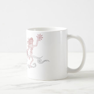 snatcher del sol del mono taza básica blanca