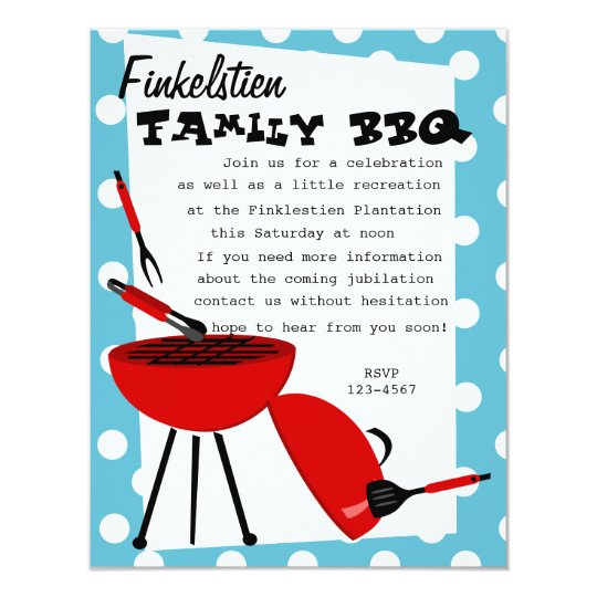 Snazzy BBQ Set Card