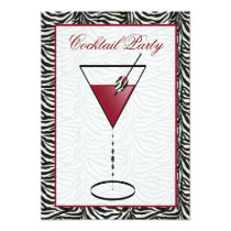 snazzy Cocktail party Invitation