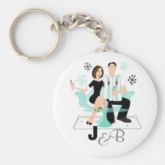 Snazzy Couple Keychain