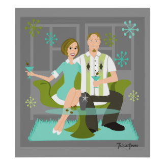 Snazzy Couple Poster