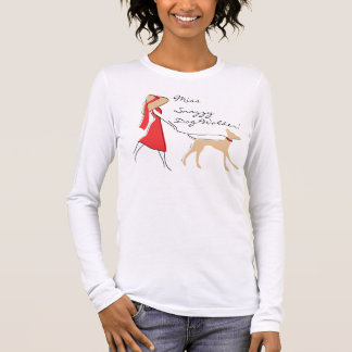 Snazzy Dog Walker Long Sleeve T-Shirt