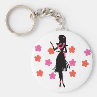 Snazzy Hula Dancer Keychains
