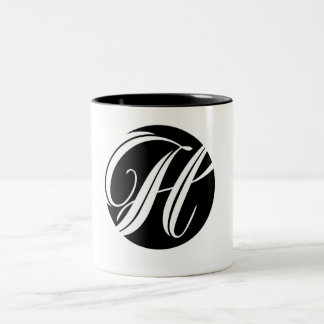 Snazzy Initial H Mug