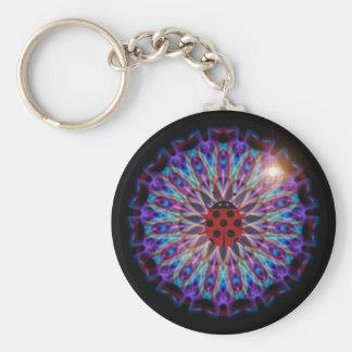 Snazzy Ladybug Kaleidoscope gift collection Keychain