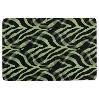 Zebra print floor mats zazzle for Zebra print flooring