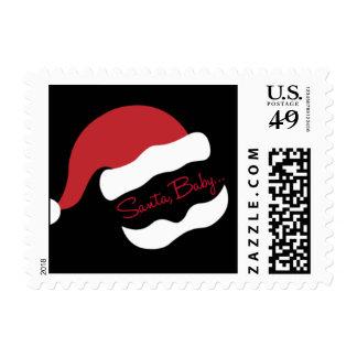 Snazzy Santa Stamp
