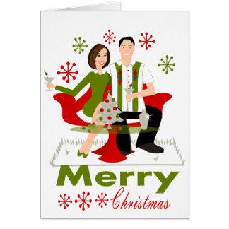 Snazzy Shindig Christmas Card