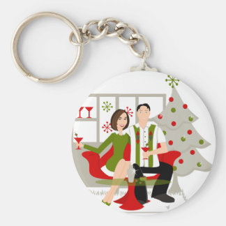 Snazzy Shindig Christmas Keychains