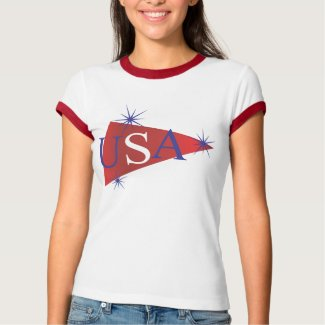 Snazzy Stars USA shirt