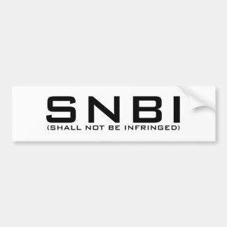SNBI Bumper Sticker