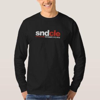 SNDCle long-sleeve, designer black Tee Shirt