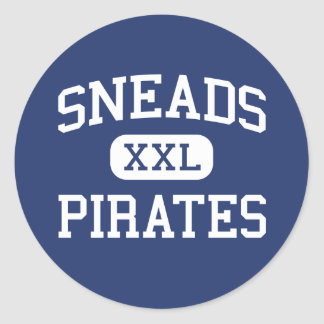 Sneads - Pirates - High School - Sneads Florida Stickers
