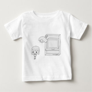 Sneak Attack (Black & White) Baby T-Shirt