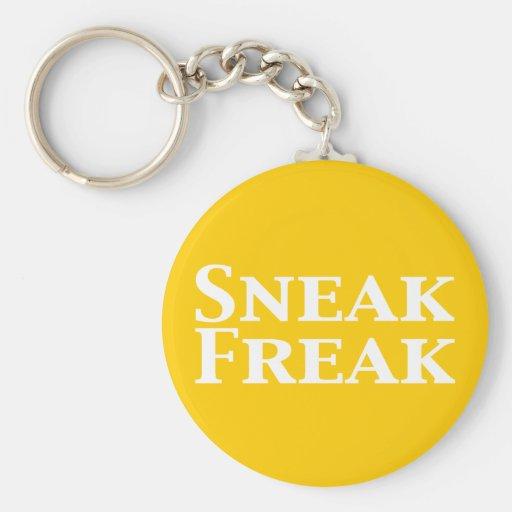 Sneak Freak Gifts Basic Round Button Keychain