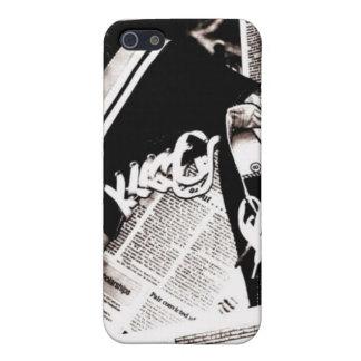 Sneak Me a Newspaper iPhone SE/5/5s Cover