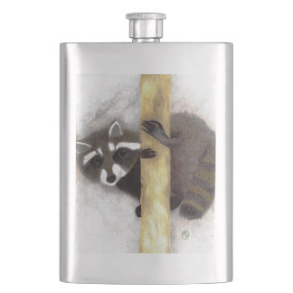 """Sneak Peek"" Hip Flask"