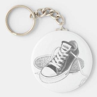 Sneaker Art Keychain