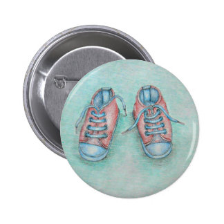 sneaker shoes button