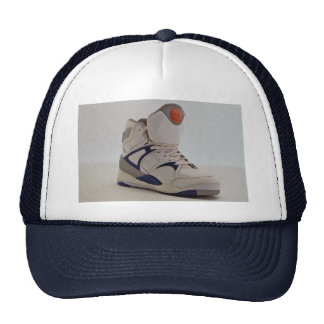 Sneaker the casual shoes for athletic person trucker hats