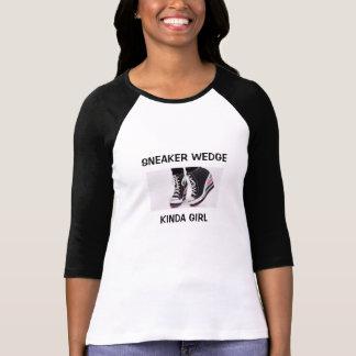 Sneaker Wedge Kinda Girl 3/4 Sleeve Tshirt