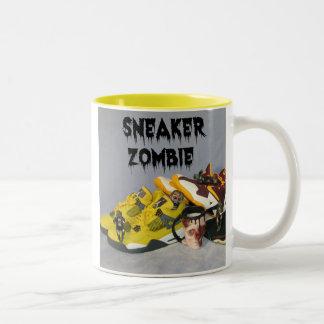 Sneaker Zombie Two-Tone Coffee Mug