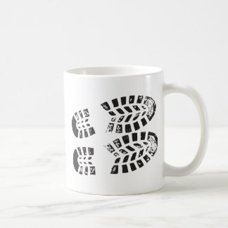 Sneakers Black & White Imprint Coffee Mug
