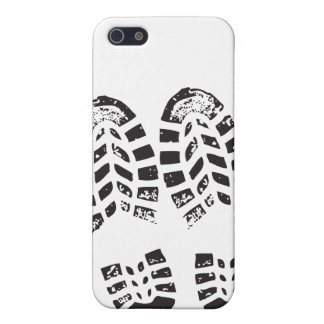 Sneakers Black & White Imprint Cover For iPhone SE/5/5s