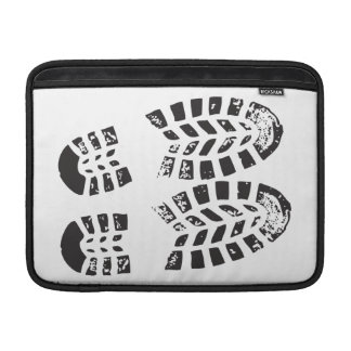 Sneakers Black & White Imprint MacBook Sleeve