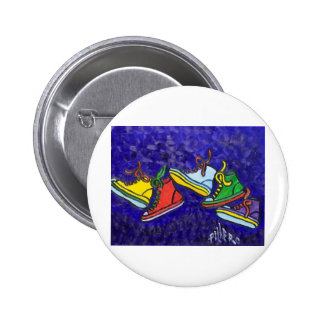 Sneakers Pinback Button