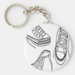 Sneakers design keychain