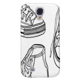 Sneakers design samsung galaxy s4 cover