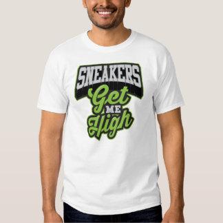 Sneakers Get me High Flat Tee Shirts