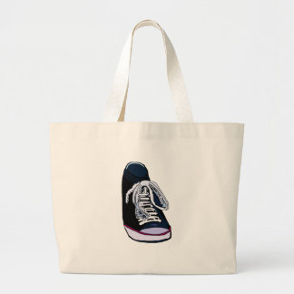 Sneakers In Tow Large Tote Bag