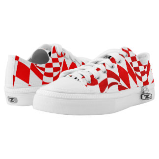 Sneakers - Low-Top - Modified Checkered Flag