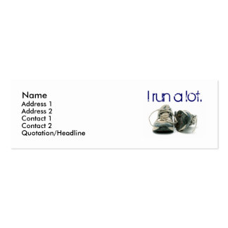 sneakers Name Address 1 Address 2 Contact 1 Business Cards