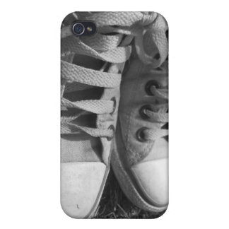 Sneakers/Trainers Savvy iPhone 4 Matte Finish Case Cover For iPhone 4
