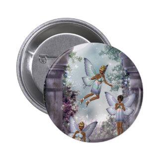 Sneaking Fairies Button