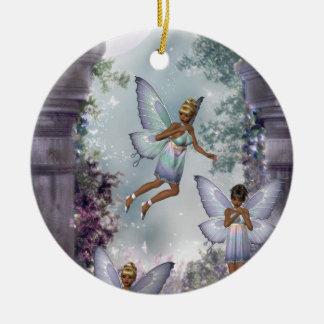 Sneaking Fairies Ornament