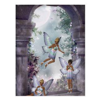 Sneaking Fairies Postcard