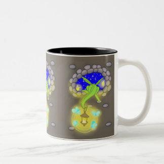 Sneaking Two-Tone Coffee Mug