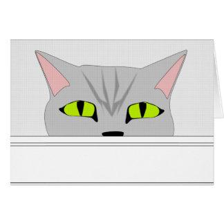 Sneaky Cat 2 Card